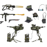 Aliens - USCM Arsenal 7 Inch Scale Weapons Accessory Pack