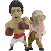 Rocky - Puppet Rocky and Mickey 12 inch Statue Maquette