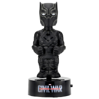Captain America 3: Civil War - Black Panther 6 Inch Solar Powered Body Knocker