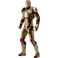 Iron Man 3 - Iron Man Mark XLII (42) 1/4 Scale Action Figure