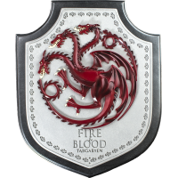 Game of Thrones - Targaryen House Crest Plaque