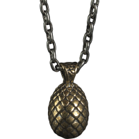 Game of Thrones - Dragon Egg Sterling Silver Necklace