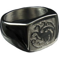 Game of Thrones - Targaryen Sigil Ring Size 10