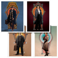 Fantastic Beasts and Where to Find Them - Art Print Set 3