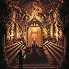Harry Potter - Harry Potter and the Mirror of Erised Art Print