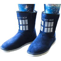 Doctor Who - TARDIS Boot Slippers