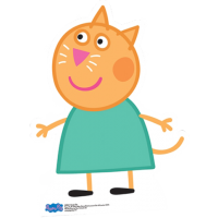 Peppa Pig - Candy Cat Cut Out Standee