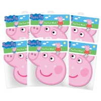 Peppa Pig - Peppa Pig Masks 6-Pack