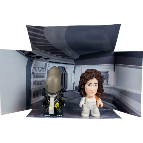 Alien - 3 Inch Titans Ripley and Acid Spatter Xenomorph 2-Pack