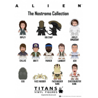 "Alien - Nostromo Collection 3"" Titan Vinyl Figures Display (20 Units)"