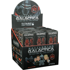 Battlestar Galactica - Titans 3 inch Blind Box Vinyl Figures (Display of 18 Units)