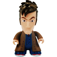 Doctor Who - 10th Doctor (Trenchcoat) Titans 6.5 Inch Vinyl Figure