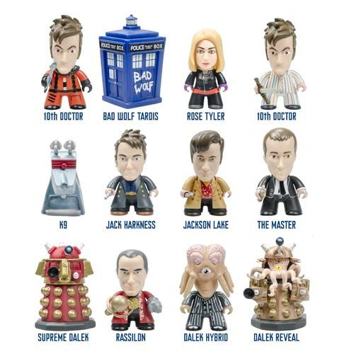 Doctor Who - 10th Doctor Gallifrey Titans Vinyl Figures Blind box (Display of 20)
