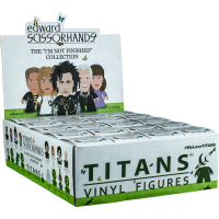 Edward Scissorhands -  InchI'm Not Finished Inch Collection Titans Vinyl Figure (Display of 20)