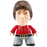 The Monkees - Micky Dolenz Titans 4.5 Inch Vinyl Figure
