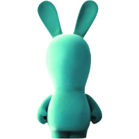 Raving Rabbids - 11 Inch Blue Velvet Rabbid