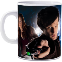 Doctor Who - 11th Doctor & Amy Pond Mug