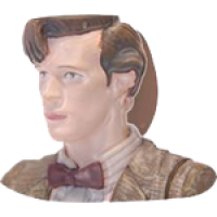 Doctor Who - 11th Doctor Matt Smith Toby Style Mug