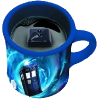 Doctor Who - Hidden TARDIS Mug
