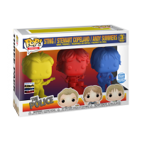 The Police - Synchronicity Pop! Vinyl Figures 3 Pack