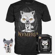 Pop! GOT Collectors Box - Nymeria POP! & Tee