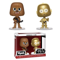 Star Wars - Chewbacca and C-3PO Vynl. Vinyl Figure 2-Pack