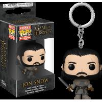 Game of Thrones - Jon Snow Beyond the Wall Pocket Pop! Vinyl Keychain