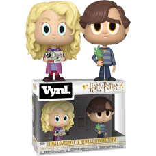 Harry Potter - Luna Lovegood and Neville Longbottom Vynl. Vinyl Figure 2-Pack