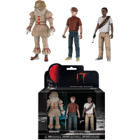 IT (2017) - Pennywise, Stan & Mike Action Figure 3-Pack
