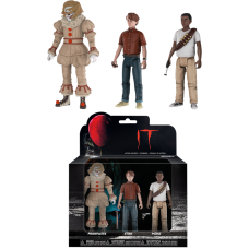 IT (2017) - Pennywise, Stan and Mike Action Figure 3-Pack