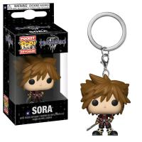 Kingdom Hearts III - Sora Pocket Pop! Keychain