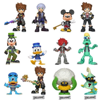 Kingdom Hearts III - Mystery Minis HT Blind Box