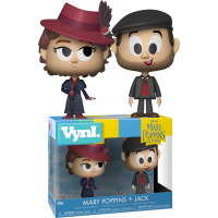 Mary Poppins Returns - Mary Poppins & Jack Vynl. Vinyl Figure 2-Pack