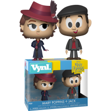 Mary Poppins Returns - Mary Poppins and Jack Vynl. Vinyl Figure 2-Pack
