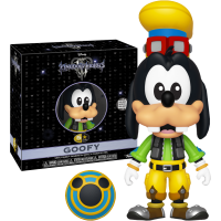 Kingdom Hearts III - Goofy 5 Star 4 inch Vinyl Figure