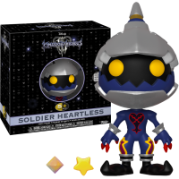 Kingdom Hearts III - Soldier Heartless 5 Star 4 inch Vinyl Figure