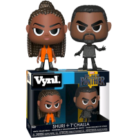 Black Panther (2018) - Black Panther and Shuri Vynl. Vinyl Figure 2-Pack