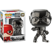 Justice League (2017) - The Flash Hematite Black Chrome Pop! Vinyl Figure