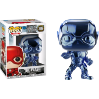 Justice League (2017) - The Flash Light Blue Chrome Funko Pop! Vinyl Figure