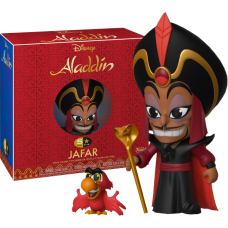 Aladdin - Jafar with Iago 5-Star Vinyl Figure