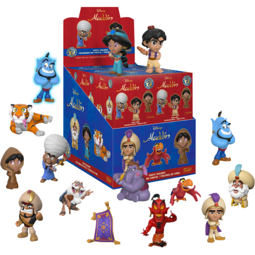 Aladdin - Mystery Minis Blind Box TG Exclusive (Display of 12)