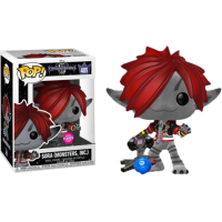 Kingdom Hearts 3 - Sora Monster's Inc. Flocked Pop! Vinyl Figure