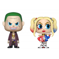Suicide Squad - Joker and Harley Quinn Vynl.