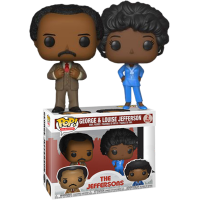 The Jeffersons - George and Louise Pop! Vinyl 2-pack