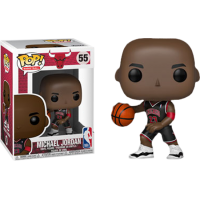 NBA Basketball - Michael Jordan Chicago Bulls Black Uniform Pop! Vinyl Figure