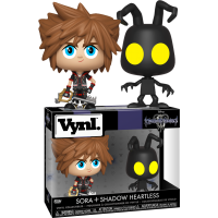 Kingdom Hearts III - Sora & Heartless Vynl. Vinyl Figure 2-Pack