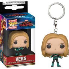 Captain Marvel (2019) - Vers Pocket Pop! Vinyl Keychain