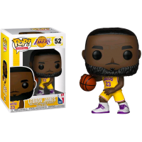 NBA Basketball - LeBron James L.A. Lakers Yellow Uniform Pop! Vinyl Figure