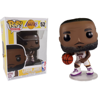 NBA Basketball - Lebron James L.A. Lakers White Uniform Pop! Vinyl Figure