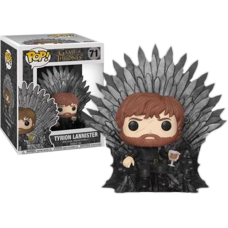 Game of Thrones - Tyrion Lannister on Iron Throne Deluxe Pop! Vinyl Figure
